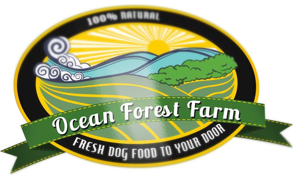 Ocean Forest Farm Logo Design | Created by Danielle